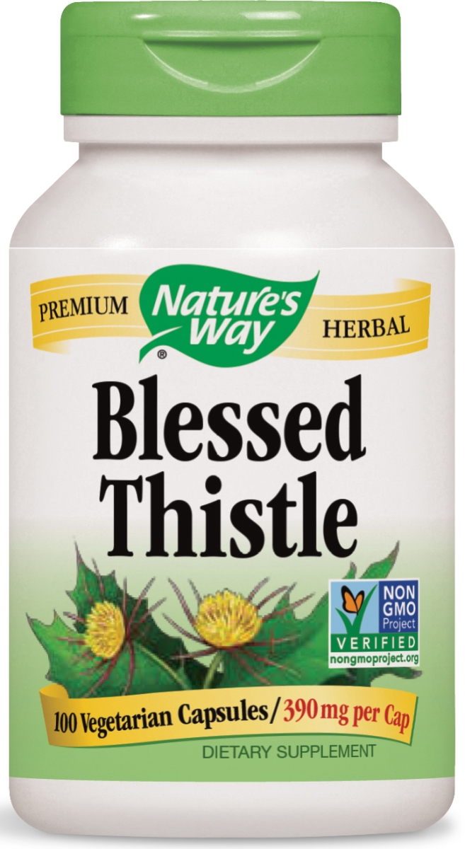 Blessed Thistle Herb 390 mg 100 caps by Nature's Way