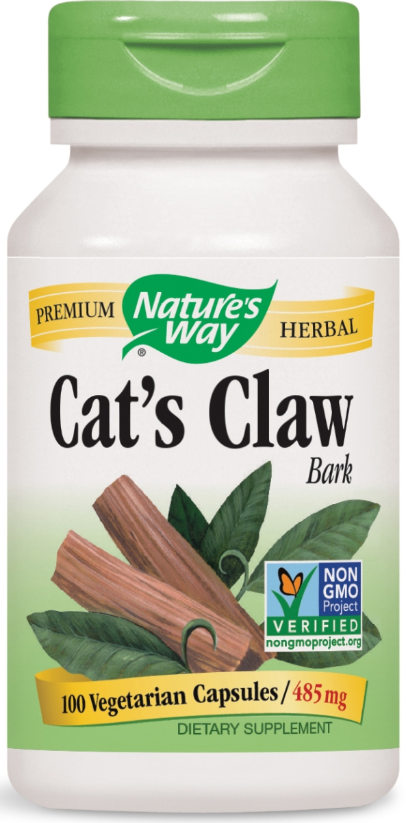 Cat's Claw Bark 100 caps by Nature's Way