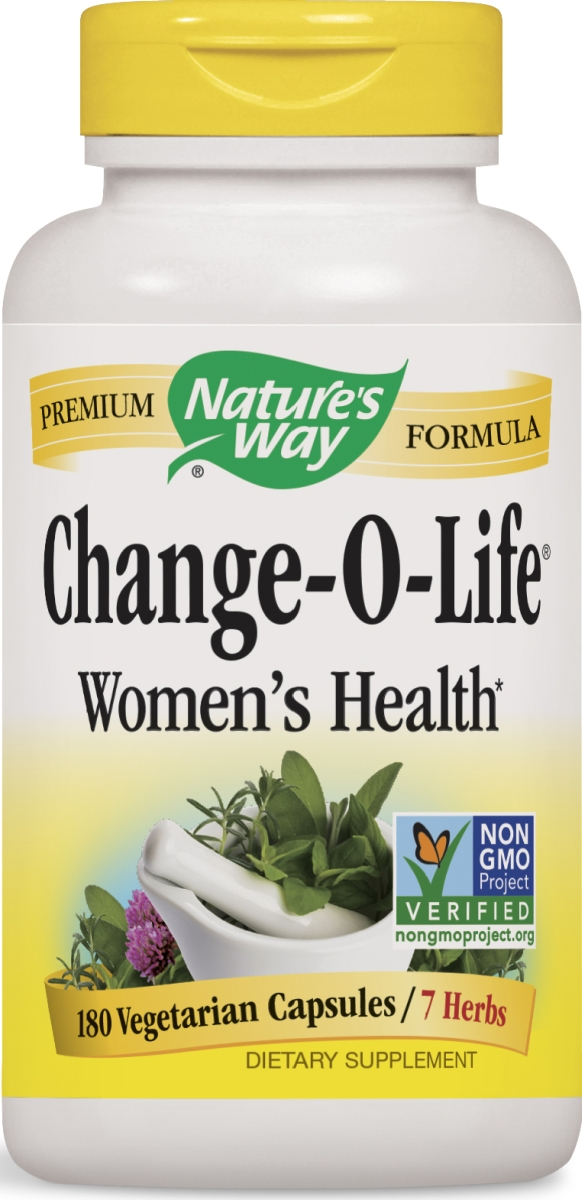 Change-O-Life 7 Herb Blend 440 mg 180 Caps by Nature's Way