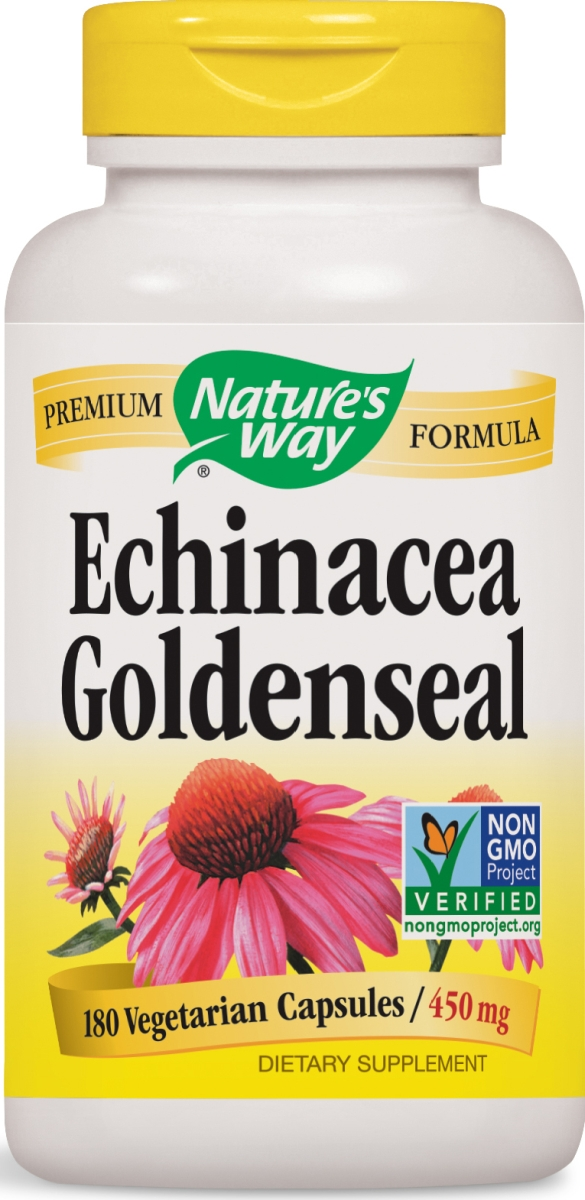 Echinacea Goldenseal 450 mg 180 caps by Nature's Way