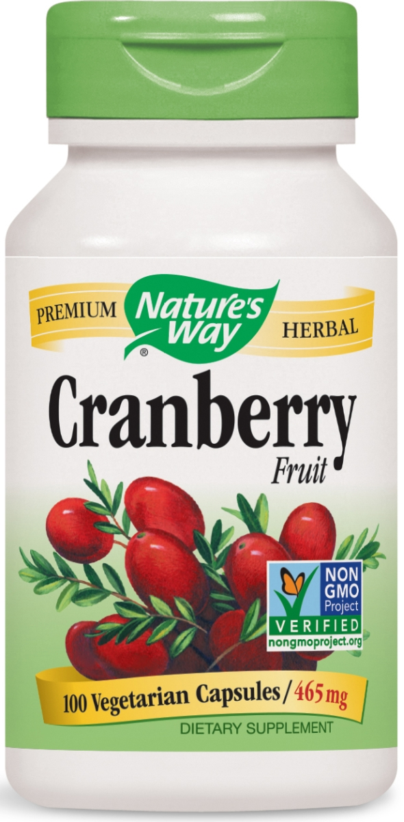 Cranberry Fruit 465 mg 100 caps by Nature's Way