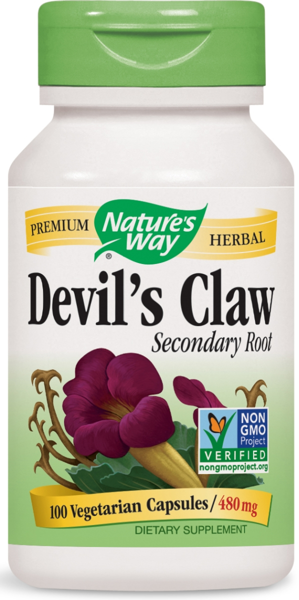 Devil's Claw 480 mg 100 caps by Nature's Way