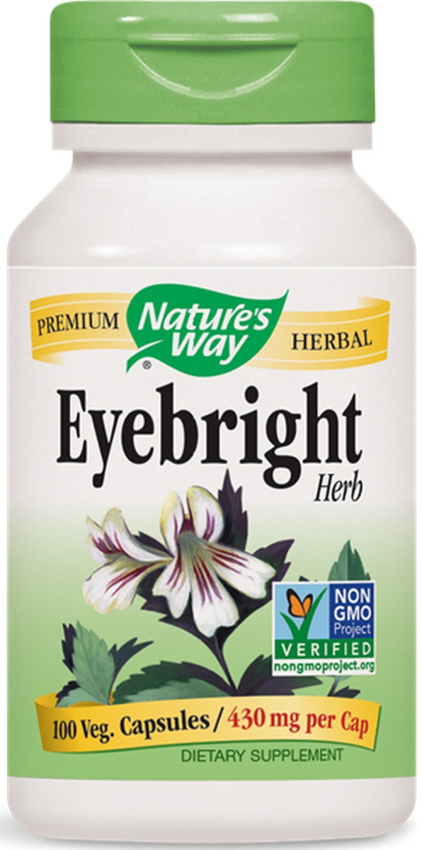 Eyebright Herb 430 mg 100 caps by Nature's Way