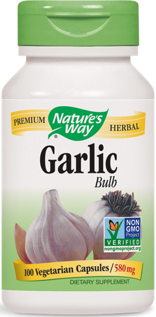 Garlic Bulb 580 mg 100 caps by Nature's Way