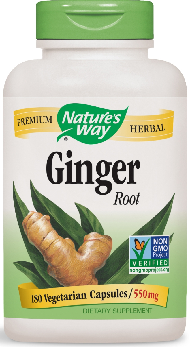 Ginger Root 550 mg 180 caps by Nature's Way