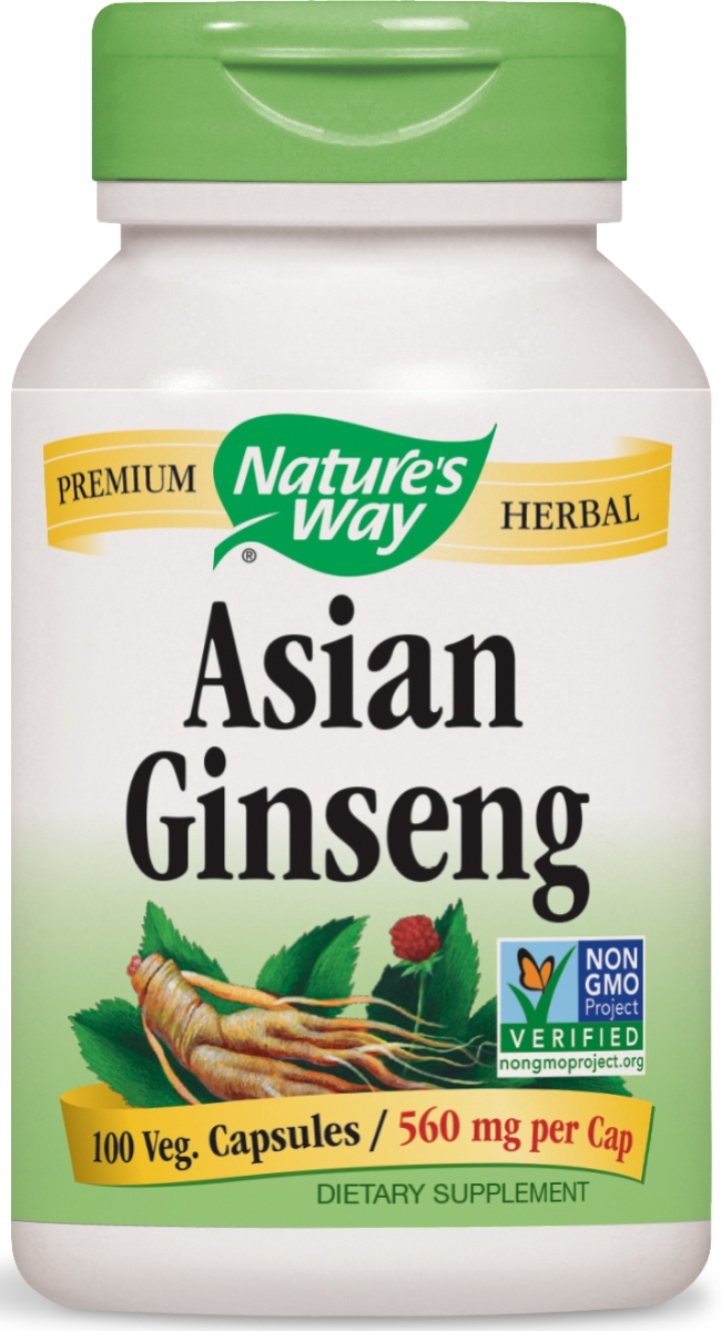 Korean Ginseng Root 560 mg 100 caps by Nature's Way