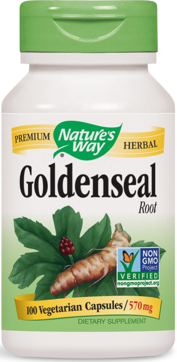 Goldenseal Root 570 mg 100 caps by Nature's Way