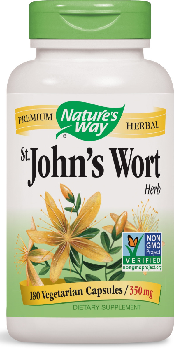 St. John's Wort Herb 350 mg 180 caps by Nature's Way