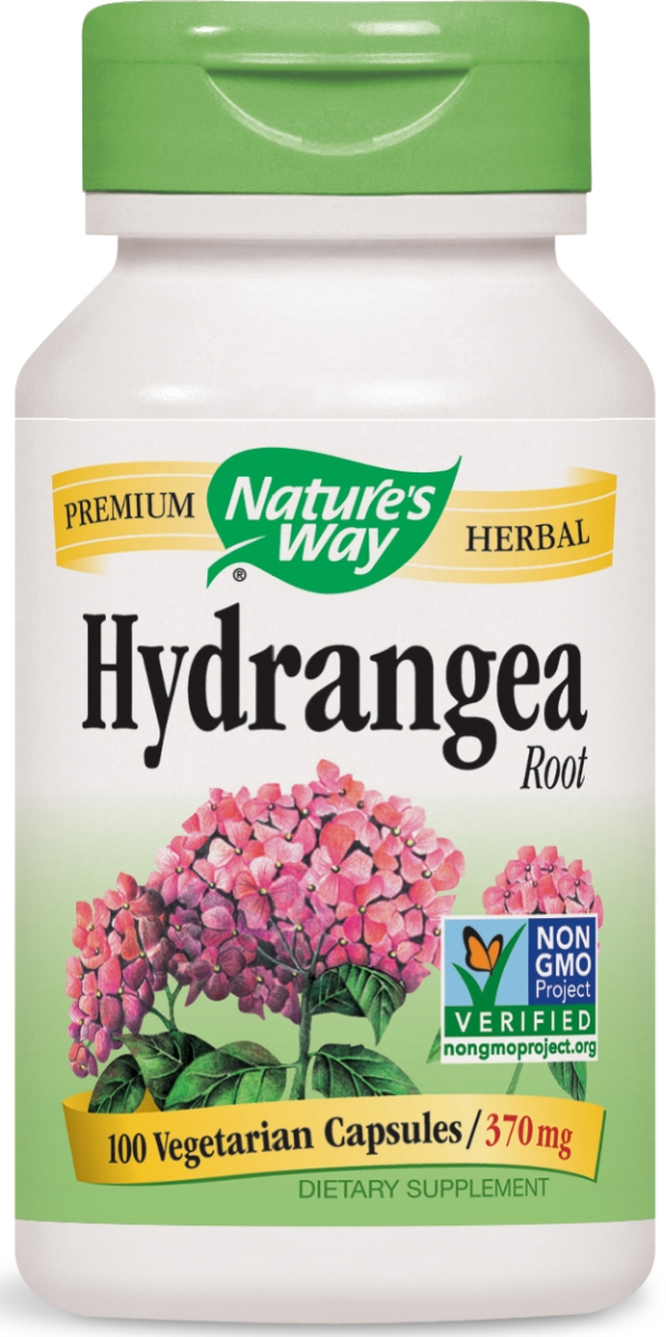 Hydrangea Root 370 mg 100 caps by Nature's Way