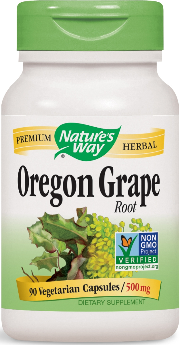 Oregon Grape Root 500 mg 90 caps by Nature's Way