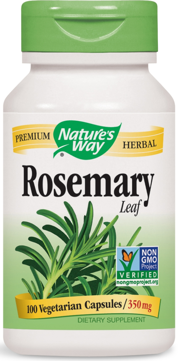 Rosemary Leaves 400 mg 100 caps by Nature's Way