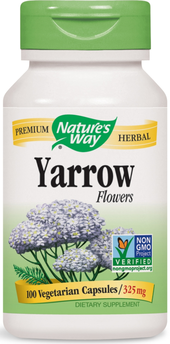 Yarrow Flowers 325 mg 100 caps by Nature's Way