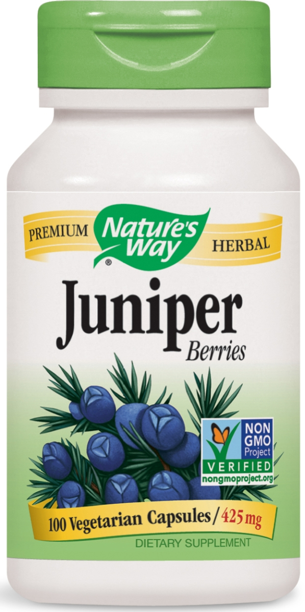 Juniper Berries 425 mg 100 caps by Nature's Way
