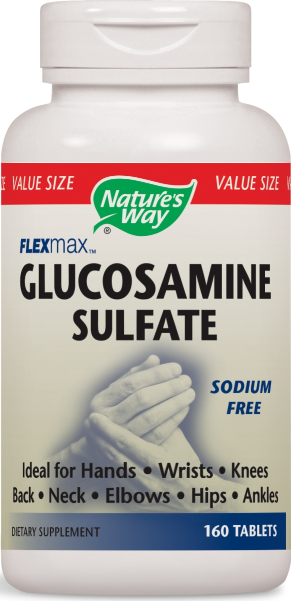 FlexMax Glucosamine Sulfate 160 tabs by Nature's Way