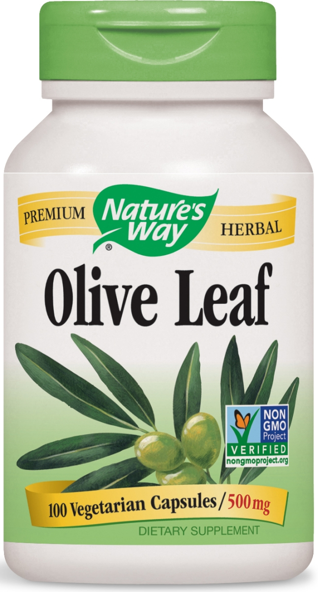 Olive Leaf Olea Europea 500 mg 100 caps by Nature's Way