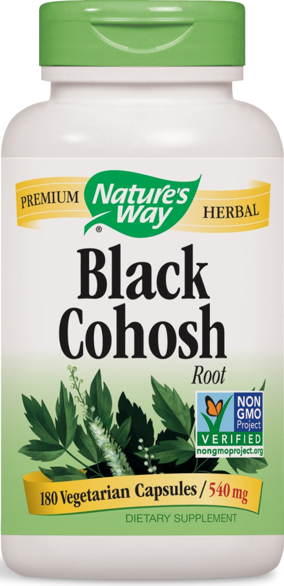 Black Cohosh Root 540 mg 180 caps by Nature's Way