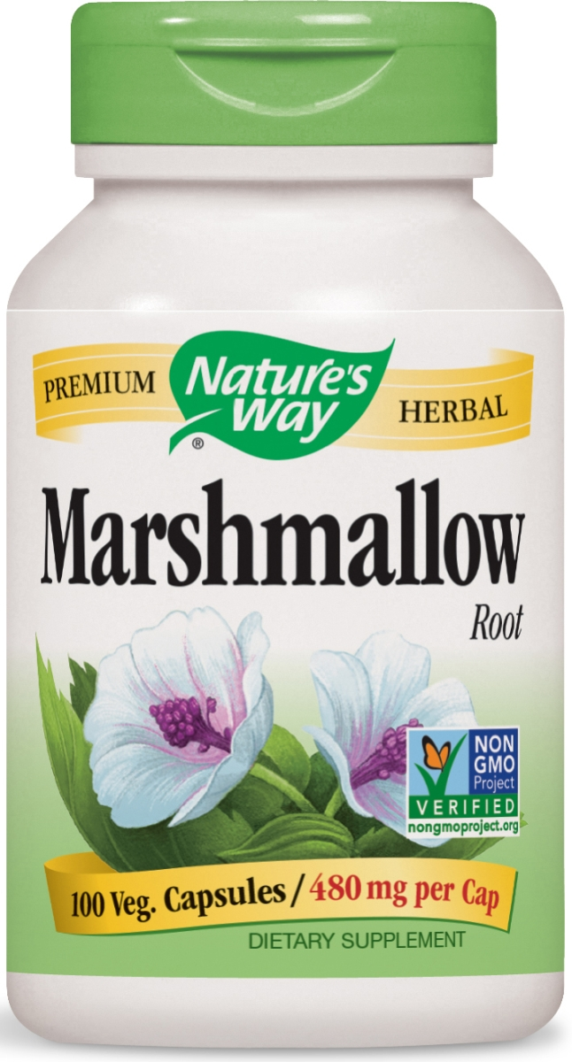 Marshmallow Root 480 mg 100 caps by Nature's Way