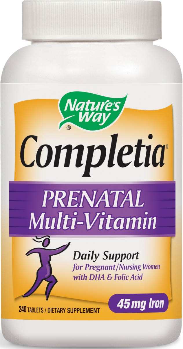 Completia Prenatal Multivitamin 240 tabs by Nature's Way