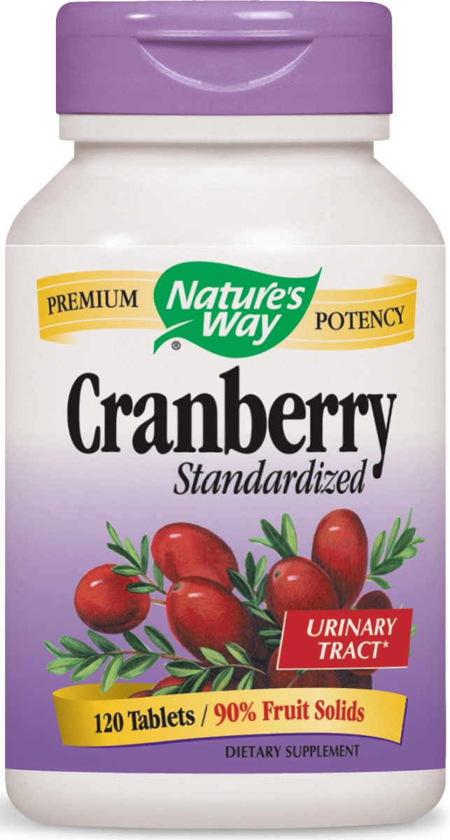 Cranberry Standardized Extract 120 tabs by Nature's Way