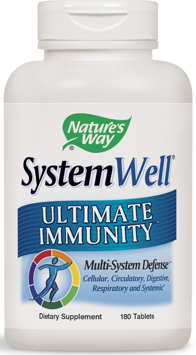SystemWell Ultimate Immunity 180 tabs by Nature's Way
