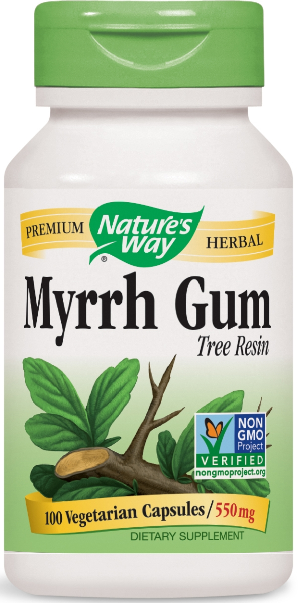Myrrh Gum 550 mg 100 caps by Nature's Way