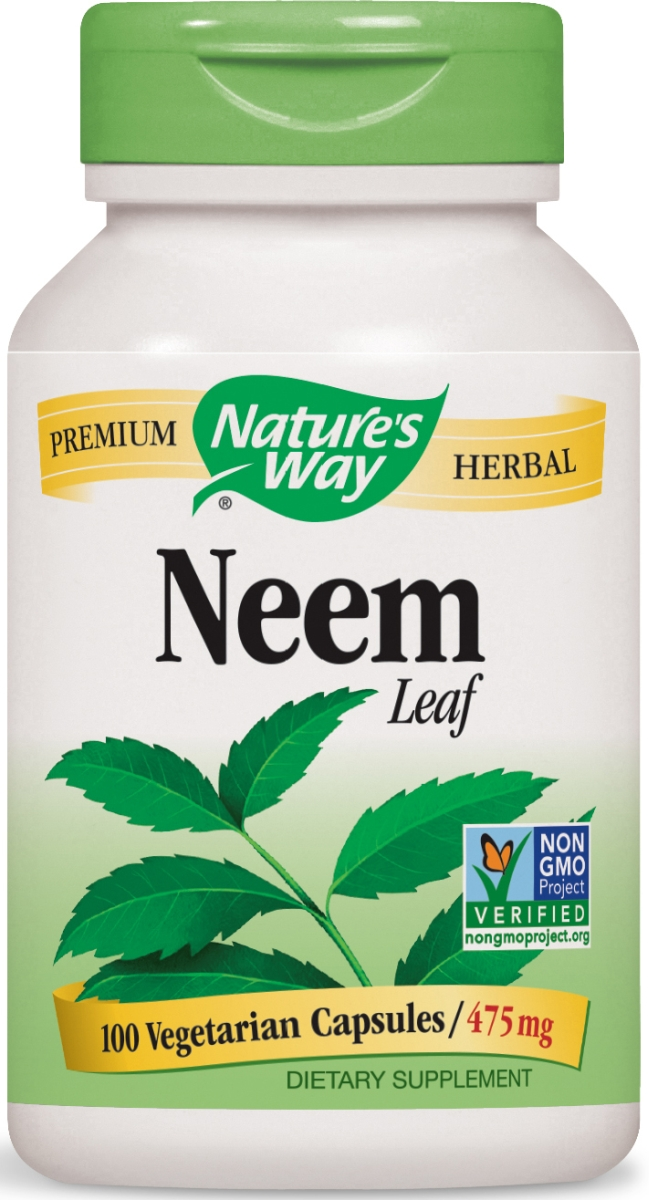 Neem Leaves 475 mg 100 caps by Nature's Way