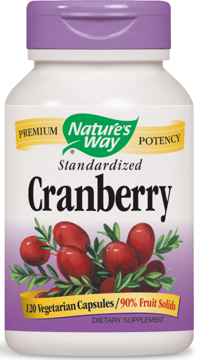 Cranberry Standardized Extract 120 Vcaps by Nature's Way