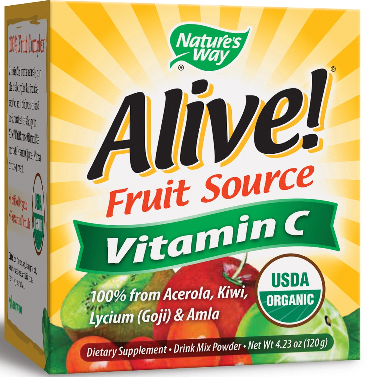Alive! Vitamin C Powder 120 g by Nature's Way