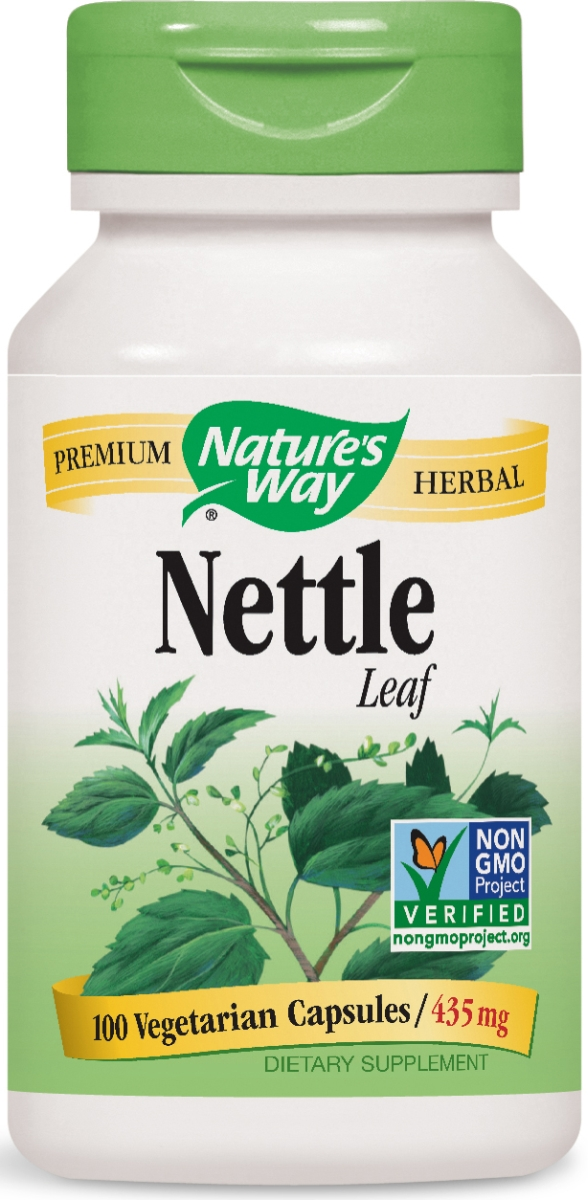 Nettle Leaf 435 mg 100 caps by Nature's Way
