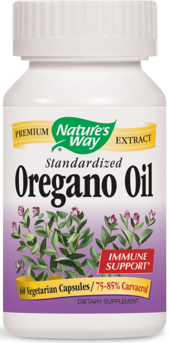Oregano Oil Standardized Extract 60 Vcaps by Nature's Way