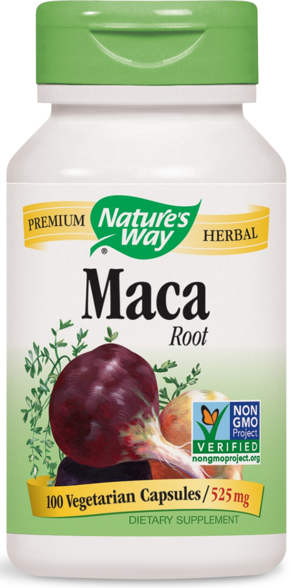 Maca Root 525 mg 100 caps by Nature's Way