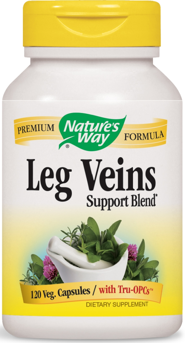 Leg Veins 120 Vcaps by Nature's Way