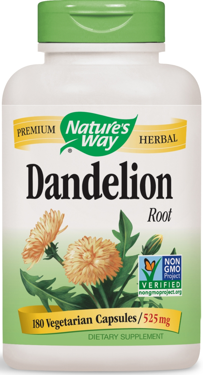 Dandelion Root 525 mg 180 Vcaps by Nature's Way