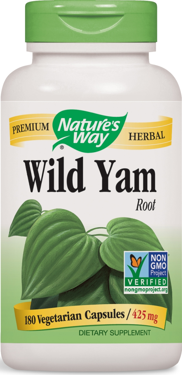Wild Yam Root 425 mg 180 Vcaps by Nature's Way