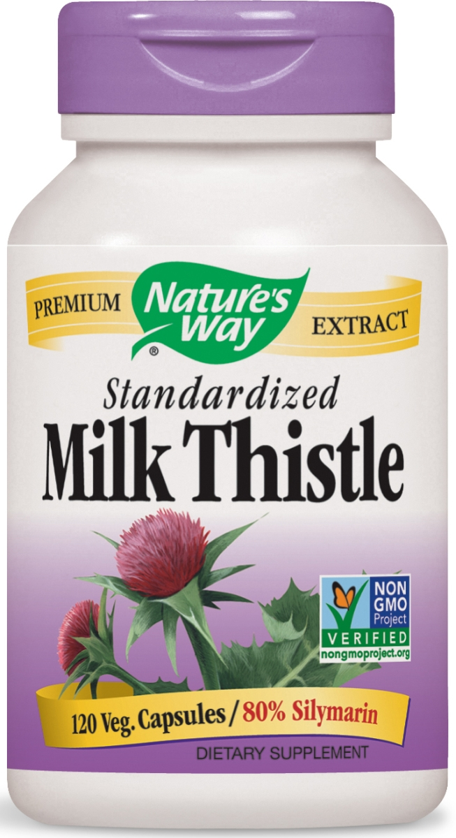 Milk Thistle Standardized Extract 120 Vcaps by Nature's Way