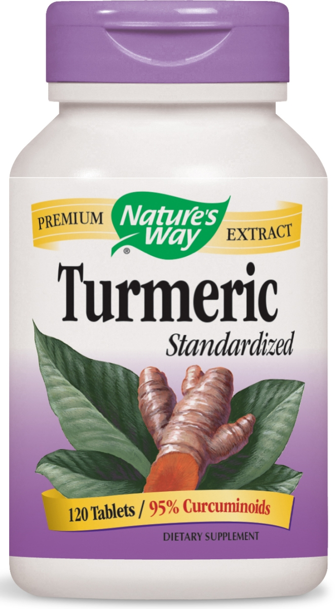 Turmeric Standardized Extract 120 tabs by Nature's Way