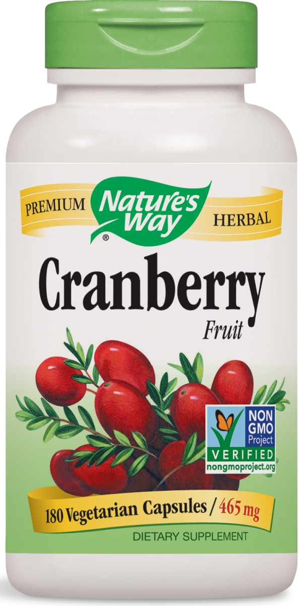 Cranberry Fruit 465 mg 180 Vcaps by Nature's Way