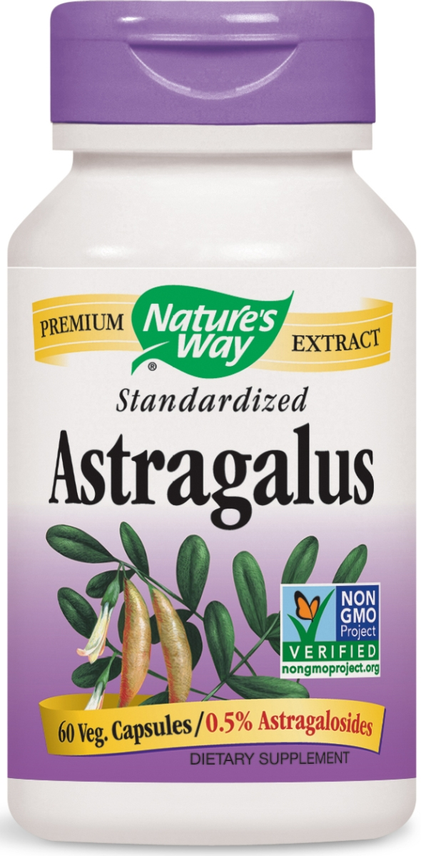 Astragalus Standardized Extract 60 Vcaps by Nature's Way
