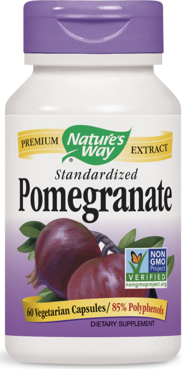 Pomegranate Standardized Extract 60 Vcaps by Nature's Way