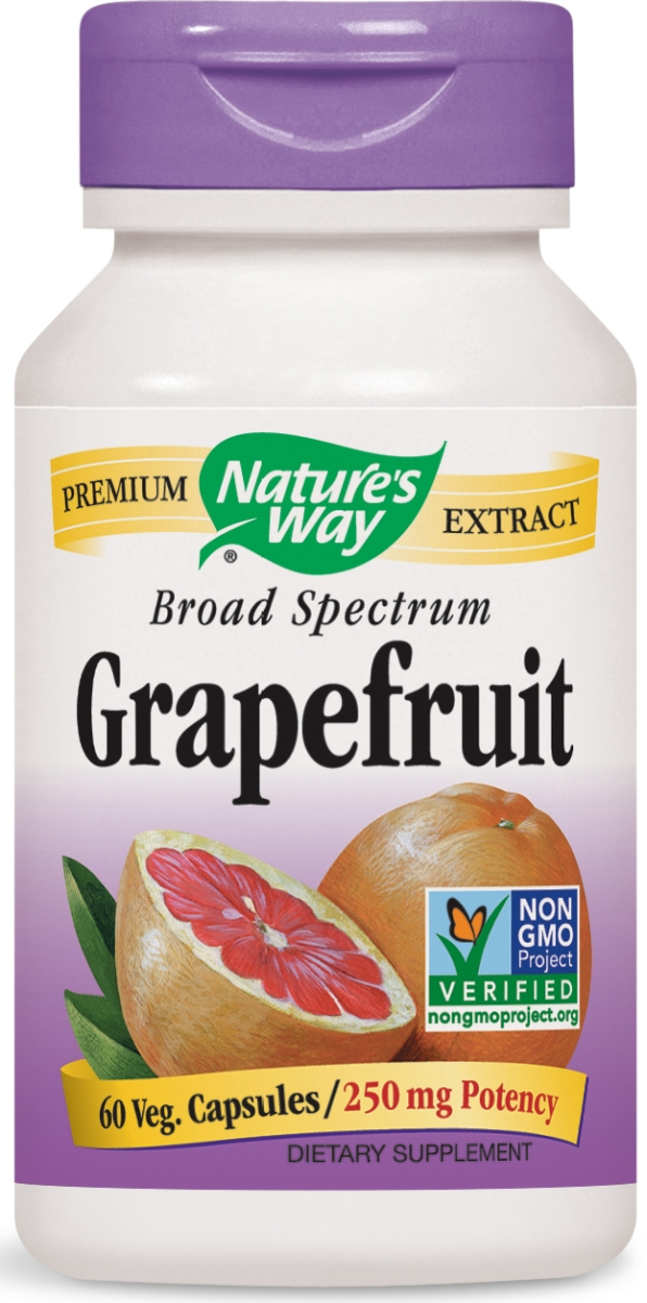 Grapefruit Seed Standardized Extract 60 Vcaps by Nature's Way