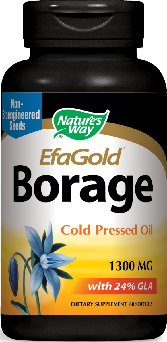 EfaGold Borage High Potency 1300 mg 60 sgels by Nature's Way