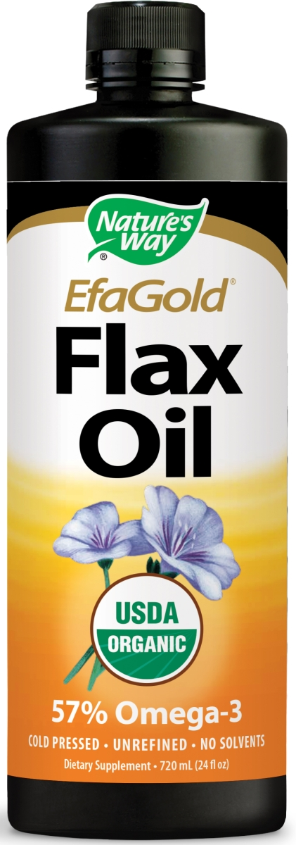 EfaGold Flax Oil 24 fl oz (710 ml) by Nature's Way