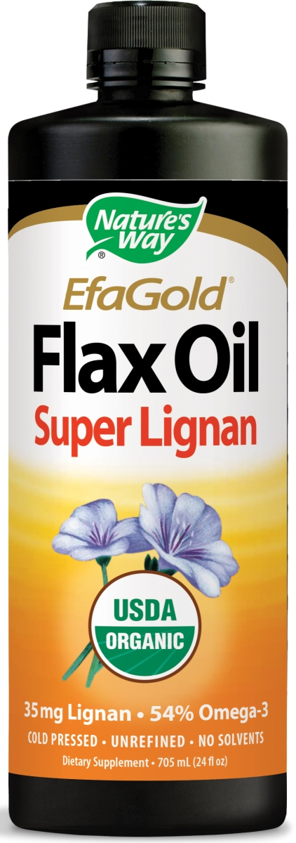 EfaGold Flax Oil Super Lignan 24 fl oz  (710 ml) by Nature's Way