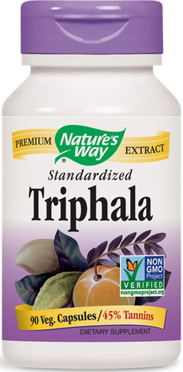 Triphala Standardized Extract 90 Vcaps by Nature's Way