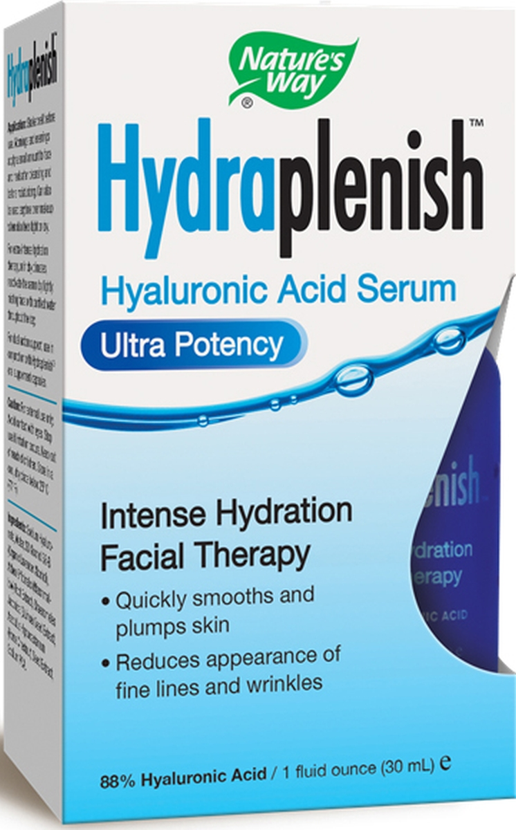 Hydraplenish Hyaluronic Acid Serum Ultra Potency 1 fl oz (30 ml) by Nature's Way
