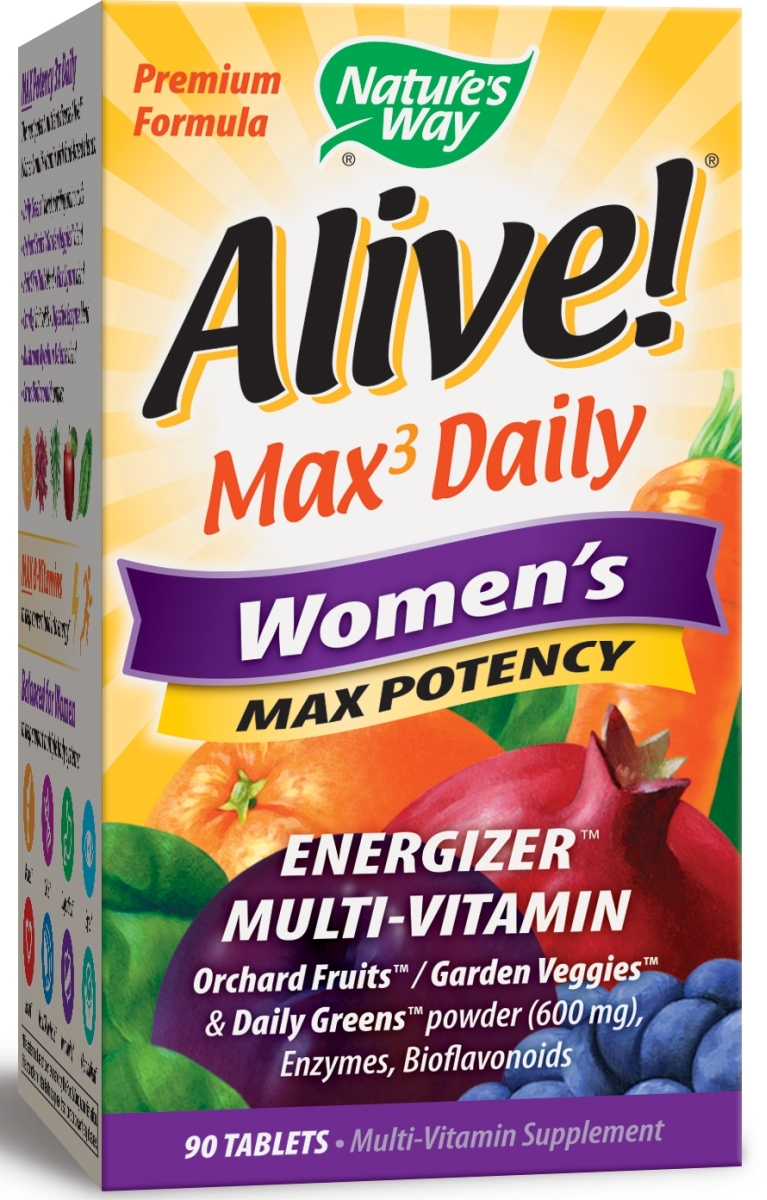 Alive! Women's Multi Max Potency 90 tabs by Nature's Way