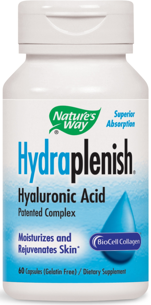 Hydraplenish Hyaluronic Acid 60 Vcaps by Nature's Way