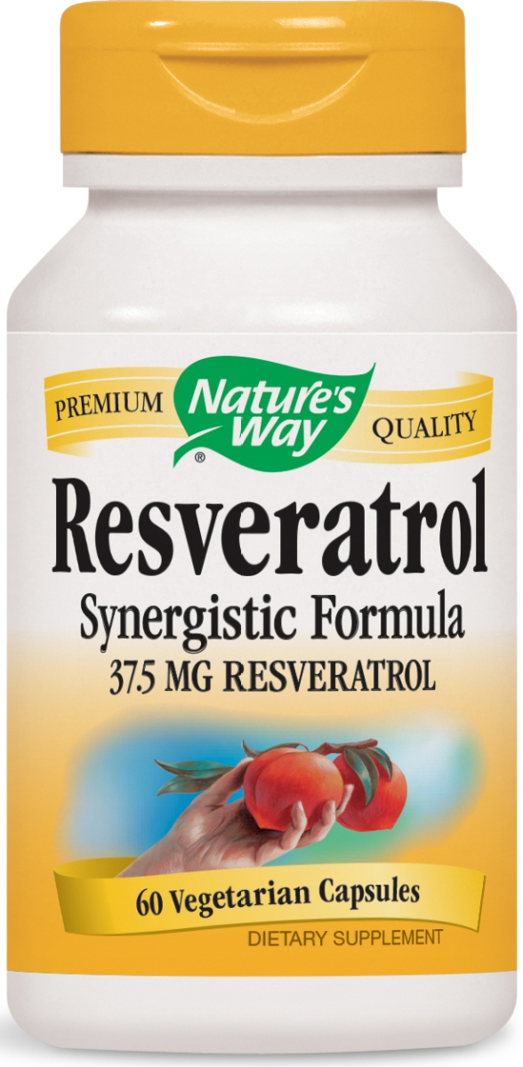 Resveratrol Synergistic Formula 60 Vcaps by Nature's Way