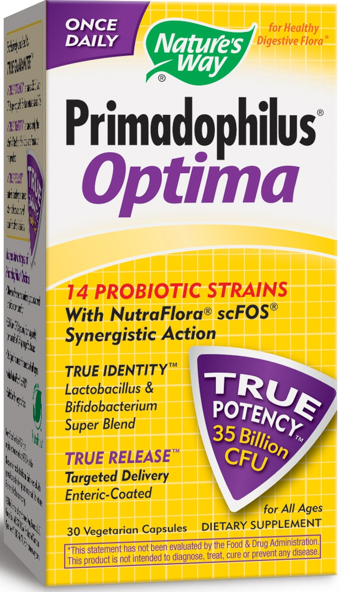 Primadophilus Optima 30 Vcaps by Nature's Way