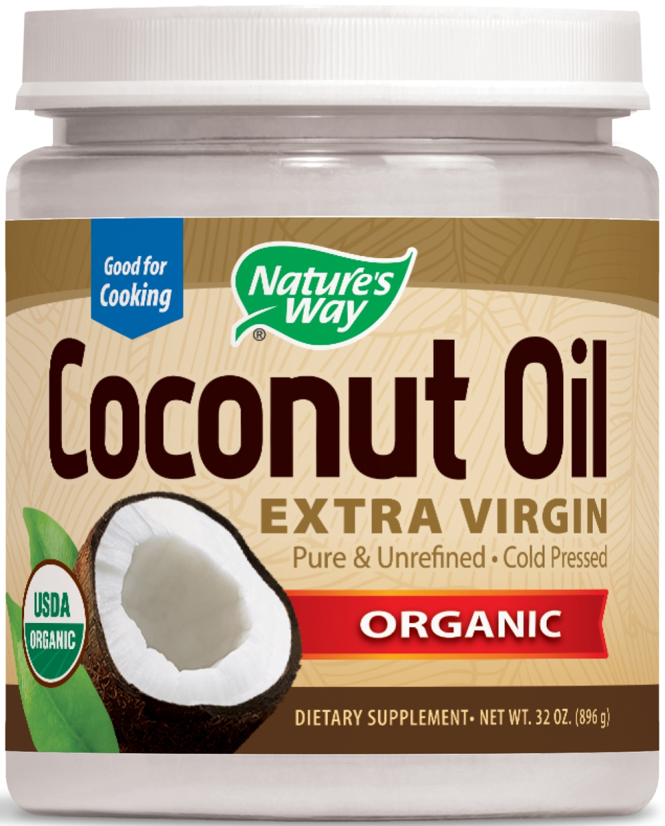 EfaGold Coconut Oil 32 oz by Nature's Way